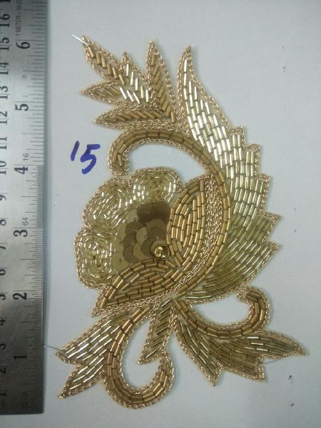 Handmade Zari Patch 07