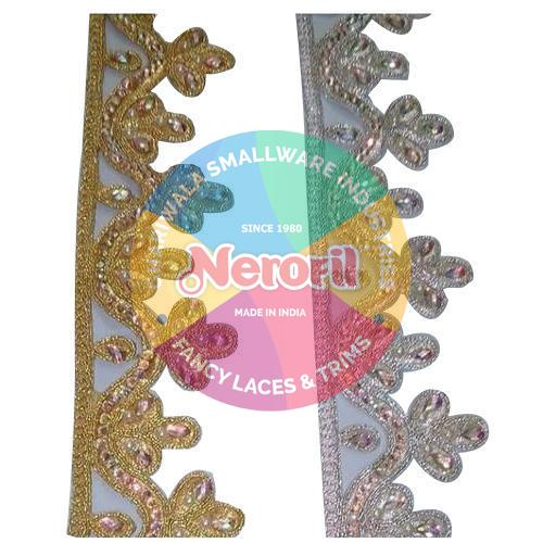 Saree Fancy Beaded Lace