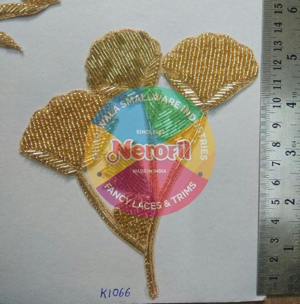 Handmade Zari Patch 10