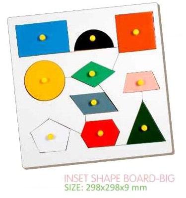 Inset Shape Board