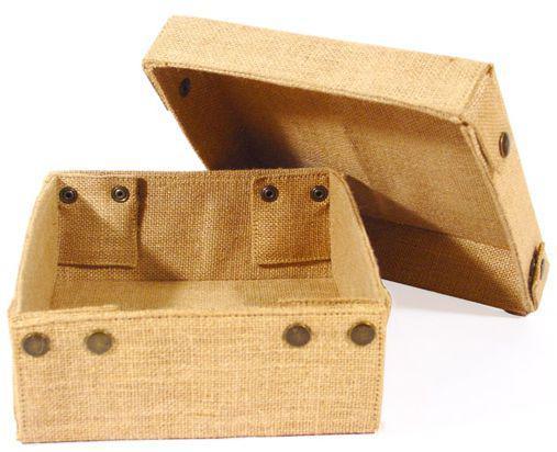 Jute Storage Box