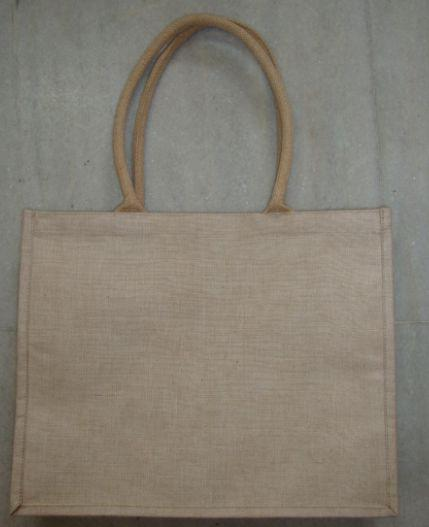 Plain Brown Laminate Juco Bag