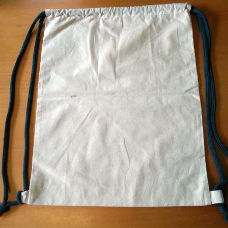 Plain Cotton Backpack