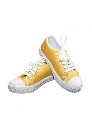Yellow Canvas Shoes