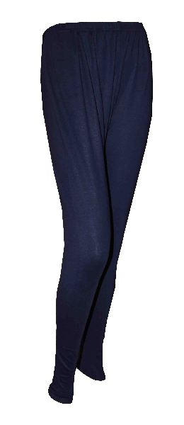 Girls Navy Blue School Leggings