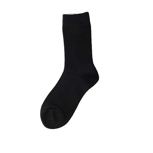 Black  School Socks