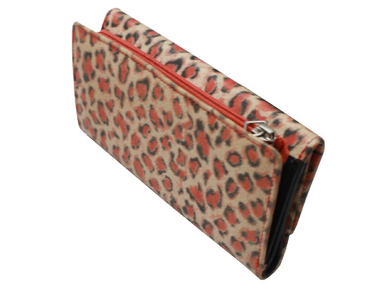 Leopard Print Ladies Wallet
