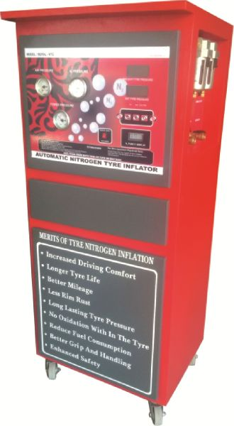 Automatic Nitrogen Tyre Inflator for Cars