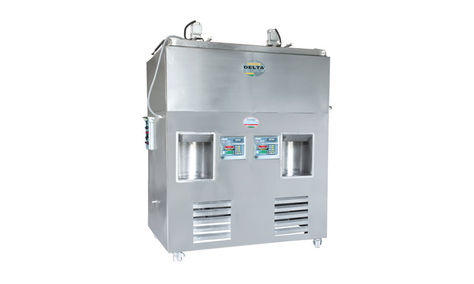Double Head Stationary Type Milk Vending Machine