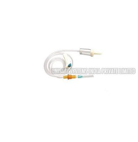 Infusion Set Without Air Vent Without Medicine Filter