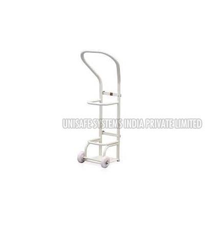 Hospital Oxygen Cylinder Trolley