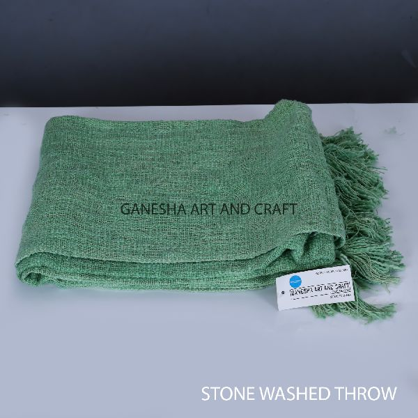 Green Throw Blankets