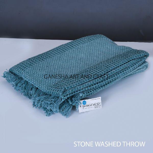 Dark Turquoise Throw Blankets