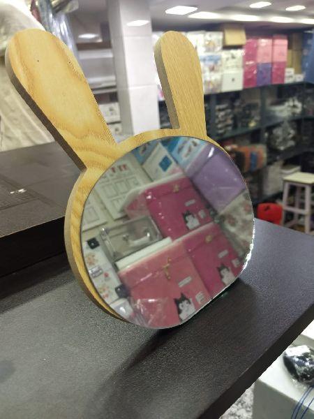 Bunny Table Mirror