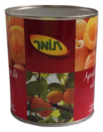 Canned Whole Apricot