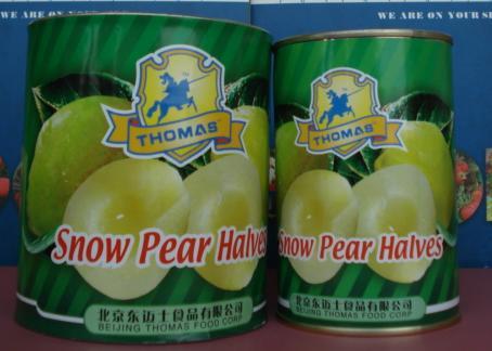 Canned Snow Pear Halves