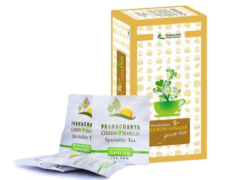 Lemon Ginger Green Tea Bag