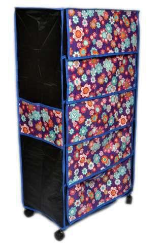 5 Shelf Cover Shoe Rack