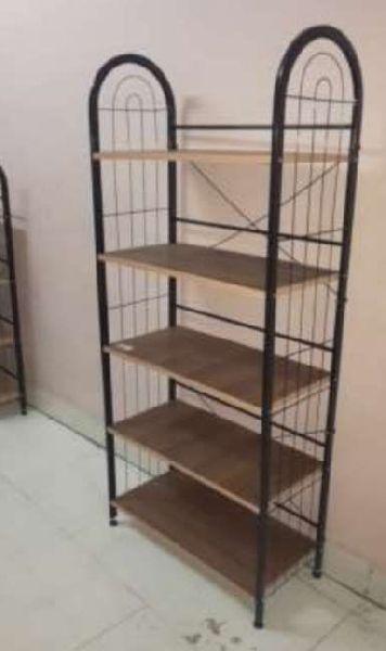 5 Shelf Wooden Shoe Rack