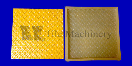 Chequered Tiles PVC Mould