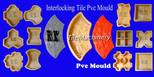 Interlocking Tiles PVC Mould