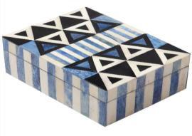 Bone Inlay Jewelry Boxes
