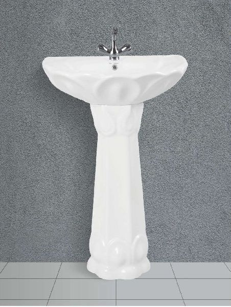 Supreme Pedestal Wash Basin