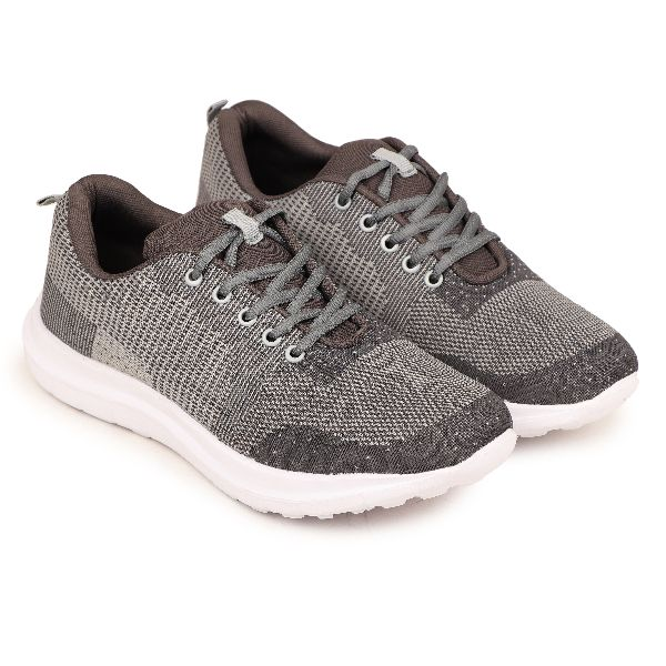 PW-1201-BLKGREY Mens Sports Shoes