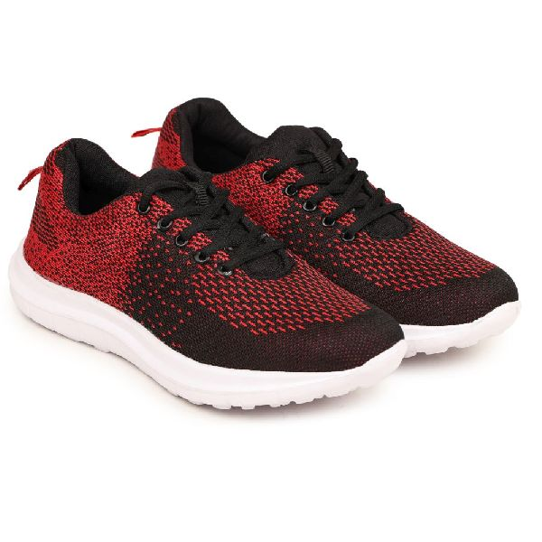 PW-1201-RED Mens Sports Shoes