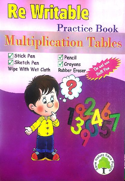 Rewritable Multiplication Notebook