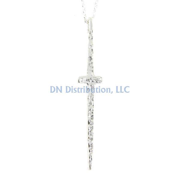 Sterling Silver Cross Religious Pendant