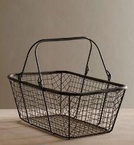 GI-01 Iron Wire Basket