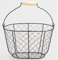 GI-016 Iron Wire Basket
