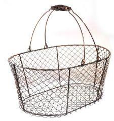 GI-02 Iron Wire Basket