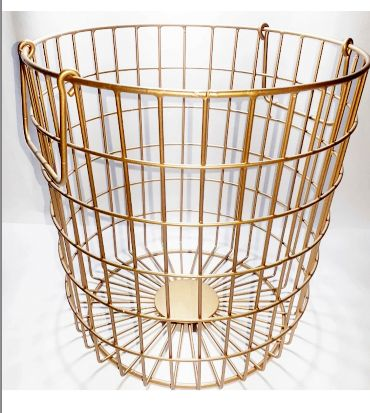 Iron Wire Basket & Bucket