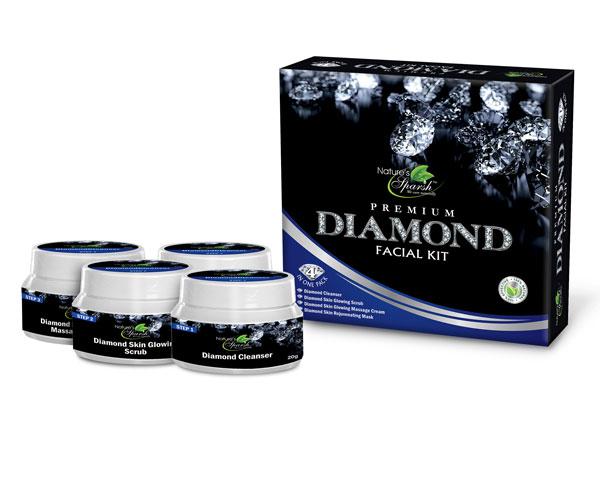 Nature\'s Sparsh 4 in 1 Diamond Facial Kit