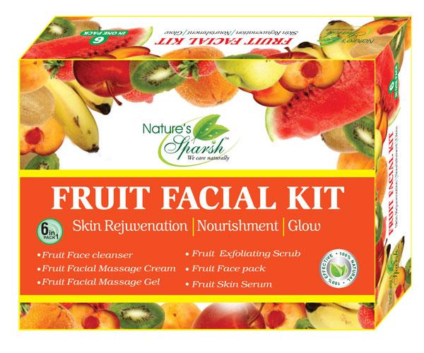 Nature\'s Sparsh Fruit Facial Kit