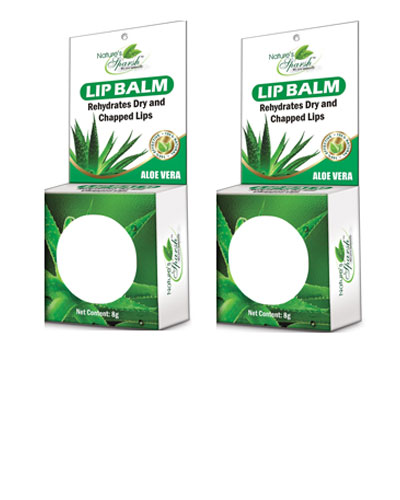 Nature\'s Sparsh Lip Balm with Aloe Vera