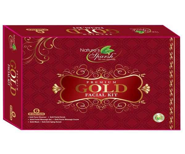 Nature\'s Sparsh Premium Gold Facial Kit