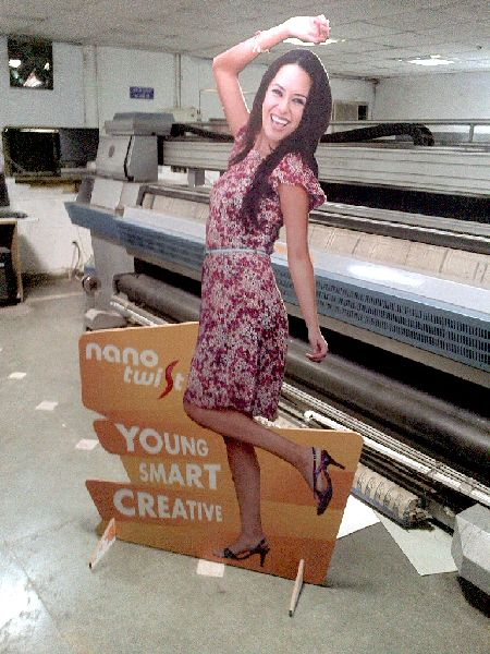 Cut Out Standee