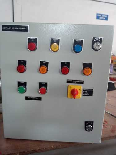 Rotary Screen Control Panel