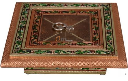 Copper Dry Fruit Box