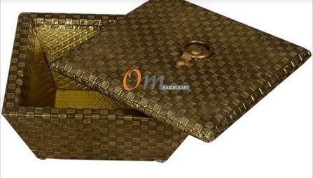Gold Chocolate Storage Box