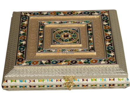 Antique Meenakari Sweet Box