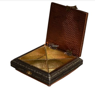 Copper Oxidized Sweet Box