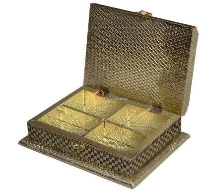 Meenakari Oxidized Sweet Box