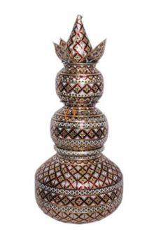 Steel Meenakari Ghagar Beda Set