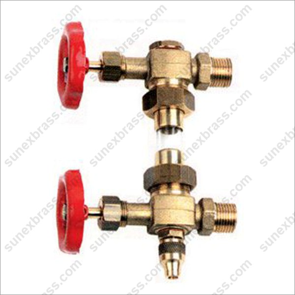 Brass Tank Level Gauge Valve