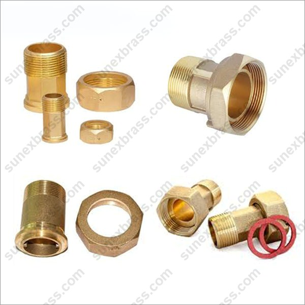 Brass Water Meter Coupling