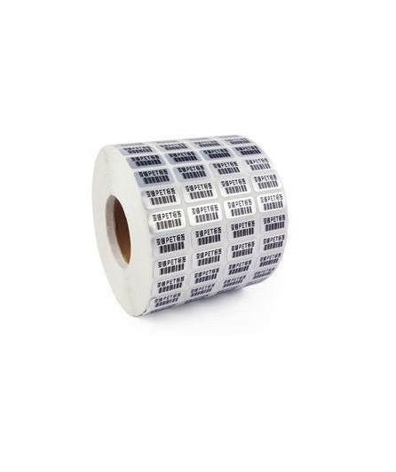 Printed Paper Barcode Labels